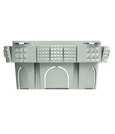 caixa elétrica 4x4 snap fit da Plasticon